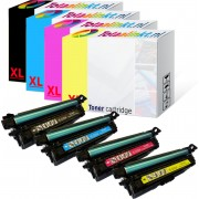 Toner voor HP Color Laserjet Enterprise M553x XXLMultipack 4x huismerk