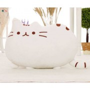 Cute Stuffed White Cat Plush Animal Soft Toy