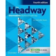 New Headway: Intermediate B1: Workbook + iChecker with Key by John Soars