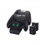 Venom VS2851 Xbox One Negru stație încărcare + 2 buc acumulatoare Xbox One