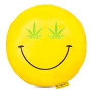 Perna decorativa Emoji Cannabis Happy Face