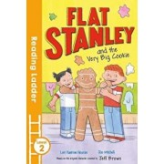 Flat Stanley and the Very Big Cookie, Paperback/Jeff Brown