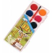 Acuarele 12 culori cu pensula ZOO Centrum