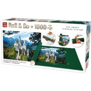 Puzzle King International - Neuschwanstein + covor, 1000 piese (King-Puzzle-05343)
