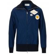 Lanvin Zipped Jacket Blue Marine
