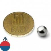 Magnet neodim sferă 8 mm