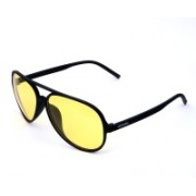 Xenops Aviator, Clubmaster, Oval, Over-sized, Round, Shield, Spectacle , Wayfarer, Wrap-around Sunglasses(Yellow)