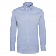 Matinique Trostol City Blaues Twill Hemd