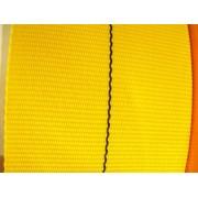 PP-Gurtband 9135 Meterware 100 mm Gelb mit Kennfaden