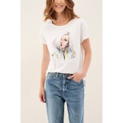 Salsa Camiseta con gráficos de joya