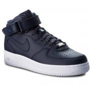 Обувки NIKE - Air Force 1 Mid '07 315123 415 Obsidian/Obsidian/White