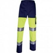 DELTA PLUS Pantalon de Travail Haute Visibilité Panostyle DELTAPLUS en coton / polyester - Taille - M