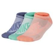 Nike Nsw womens -3ppk striped no sh SX6064-900 Barevná M