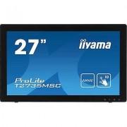 IIYAMA T2735MSC-B2 Touchscreen 68.6 cm (27 ) 1920 x 1080 pix 16:9 5...