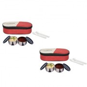 Carrolite Easy Carry 2 Black container Lunchbox Red Buy 1 get 1 Free