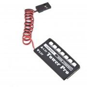 EH Modelo RC 7 Receptor LED Indicador De Voltaje De La Batería Del Coche Automático 7LED 6v 4.8V