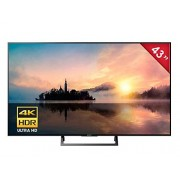 "Sony KD-43X720E Smart TV 43"", 4K HDR Ultra HD, Wi-Fi, 3 x HDMI"