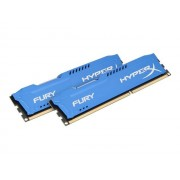 Kingston HyperX FURY - DDR3 - 16 GB: 2 x 8 GB - DIMM 240-pins - 1600 MHz / PC3-12800 - CL10 - 1.5 V