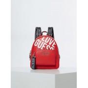 Guess Rugzak Groot Haidee Logo - Rood - Size: T/U