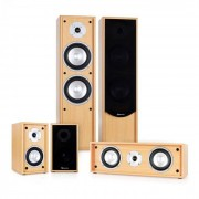Auna Linie-300-BH Equipo de sonido home cinema 5.0 265W RMS