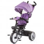 Tricicleta Chipolino Tempo purple linen