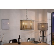Visiaca lampa LEFT 40 cm - strieborná