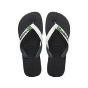 Havaianas-Slippers-Flipflops Brasil Mix-Zwart