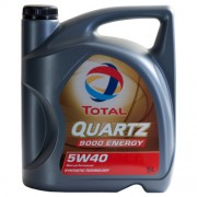 Total QUARTZ 9000 ENERGY 5W-40 5 Litres Jerrycans