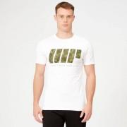 Myprotein Camiseta Camuflaje Verde - XL - Blanco