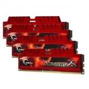 Memorie G.Skill RipJawsX 32GB (4x8GB) DDR3 PC3-10666 CL9 1.5V 1333MHz Intel Z97 Ready Dual/Quad Channel Kit, F3-10666CL9Q-32GBXL