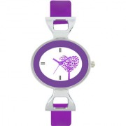 The Shopoholic Designer Purple Love Tree Dial Awesome Analog Watches For Women-Watches For Girls