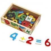 Комплект дървени цифри с магнити в кутия, 10449 Melissa and Doug, 000772104494
