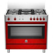 La Germania Ris95c71cxr Cucina 90x60 5 Fuochi A Gas Forno A Gas Ventilato Con Gr