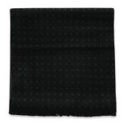 Fekete sál pöttyös mintával 11048