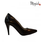 Pantofi dama din piele naturala 24705/negru/Crina