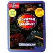 T.S. Shure Scratch-A-Doodle Transportation Activity Tin