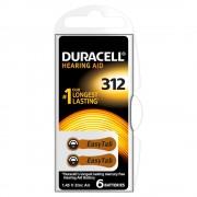 Baterie Duracell pentru aparat auditiv DA312 6buc