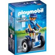 Playmobil City Action, Politista cu masina de echilibru