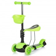Trotineta Chipolino Kiddy green