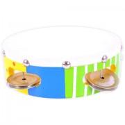 Tamburina colorata de jucarie 18 cm Big Jigs