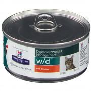 Hill's PET Nutrition Hills Prescription Diet™ w/d™ Feline au Poulet 156 g 0052742945507