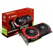 Placa video MSI GeForce GTX 1060 Gaming X 6G, 1594 (1809) MHz, 6GB GDDR5, 192-bit, DL-DVI-D, HDMI, 3x DP