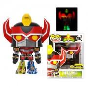 Pop! Vinyl Figurine Pop! Megazord 6 Pouce Brille Dans Le Noir (GITD) - Power Rangers - EXC