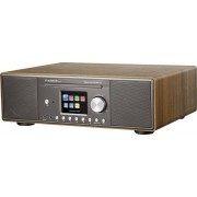 Albrecht DR 890 Tafelradio met internetradio DAB+, FM AUX, Bluetooth, CD,USB, WiFi (walnoot)