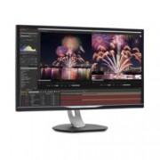 """Монитор Philips Brilliance 328P6AUBREB, 31.5""""(80.01cm) IPS W-LED панел, WQHD, 4ms, 50 000 000:1, 450 cd/m2, Display Port, HDMI, D-Sub, USB"""