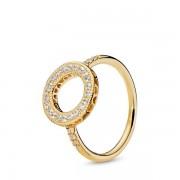 PANDORA Shine Halo Ring, Ring, Zirkonia, 167096CZ-60