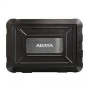 "Externý box pre 2,5"" SSD/HDD . USB 3.1 . BLACK . ADATA"