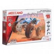 Set constructie metalic 15 in 1 Meccano ATV 244 piese