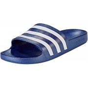 adidas Adilette Aqua Sandals Herr dark blue/ftwr white/dark blue UK 9 EU 43 1/3 2019 Badskor & Sandaler