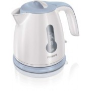 Philips PH KETTLE (HD 4608) Electric Kettle(0.8 L, White & Blue)